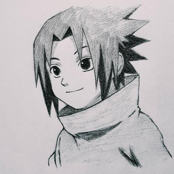 Sasuke Uchiha What Do You Think Sasuke Sasukeuchiha Uchiha Uchihaclan Animeart Ani Naruto Sketch Drawing Naruto Sketch Naruto Drawings Easy