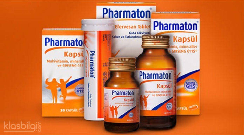 Pharmaton Nedir Yorum Mineraller Saglik
