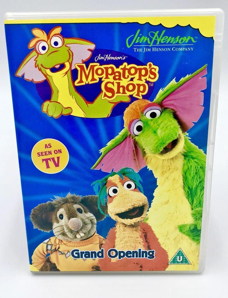 Jim Henson 039 S Mopatop S Shop Dvd Grand Opening Children S Kids