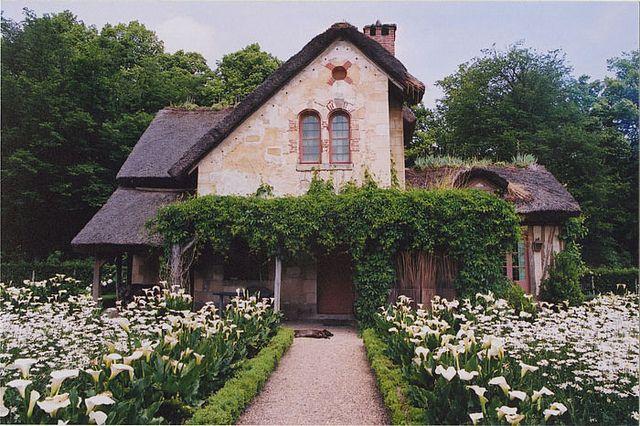 """Marie Antoinette's Hamlet.. """"Hameau de la Reine"""", Chateau de Versailles, Yvelines, France"""