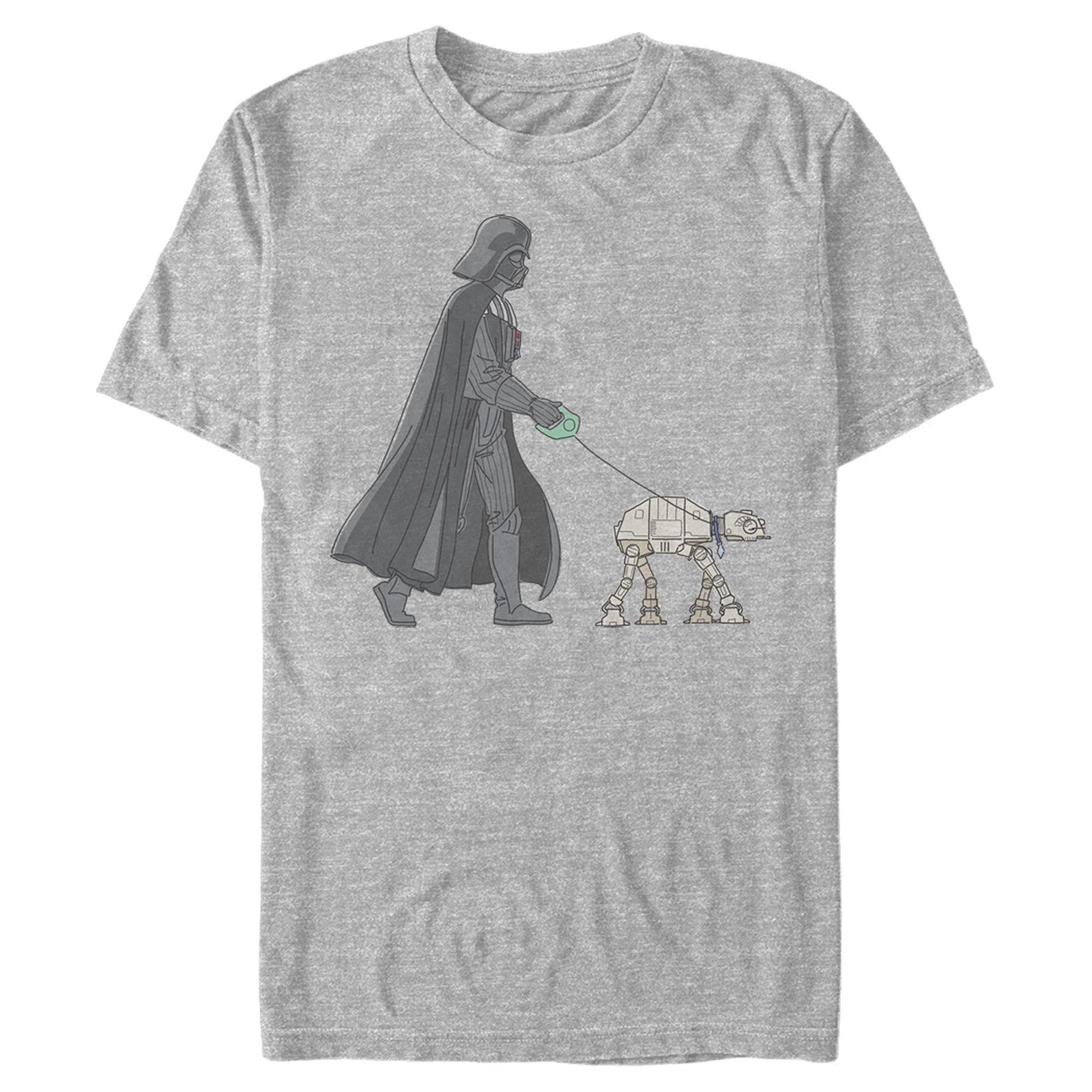 Star Wars Men S Darth Vader At At Walking The Dog T Shirt In 2021 Star Wars Outfits Star Wars Men Star Wars Shirts [ 2000 x 2000 Pixel ]