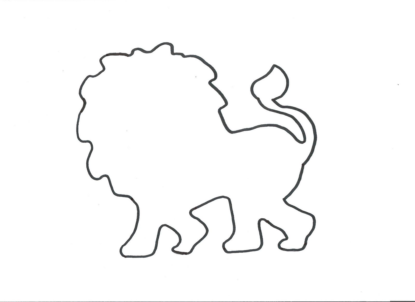 Lion Template