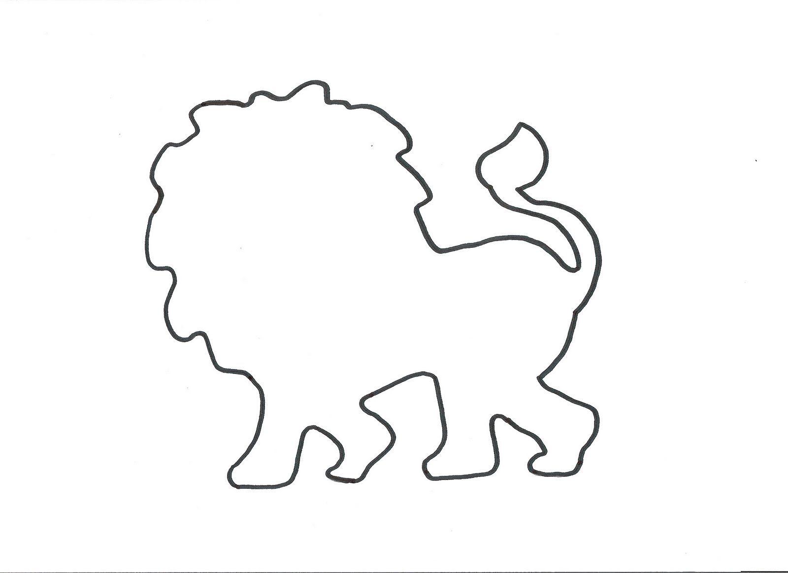 lion template crafts pinterest daniel and the lions lion s