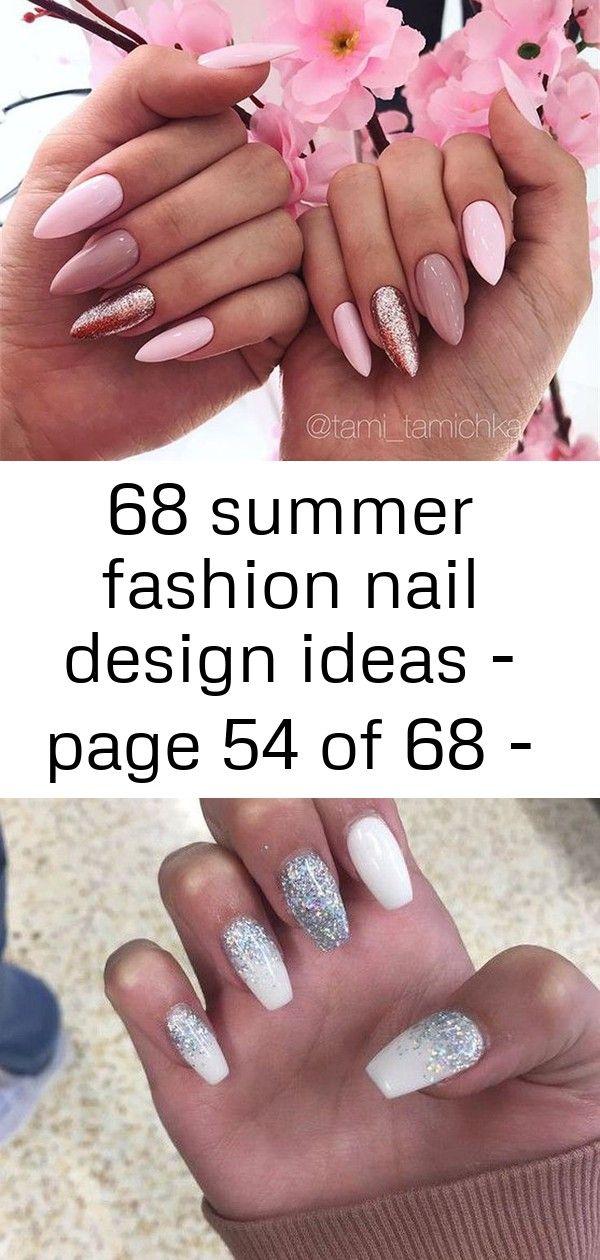 68 ideeën voor zomernagelmodeontwerp – pagina 54 van 68 – #ontwerp #mode #idea's #nail #pagina #peach n 4