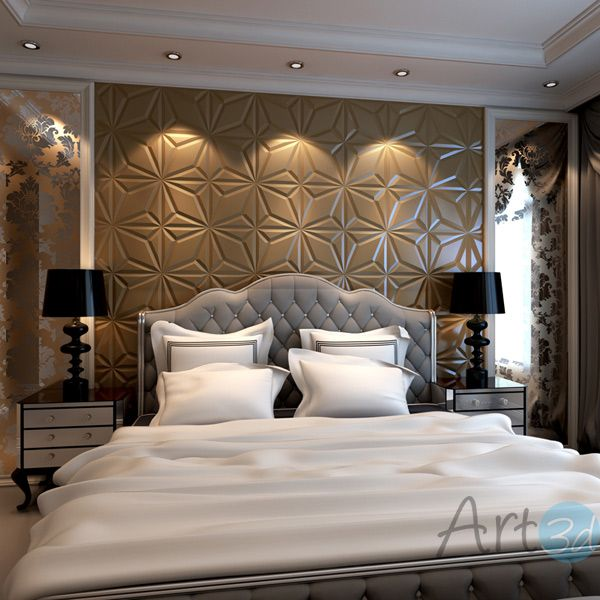 Luxury Padded Wall Panels For Bedroom