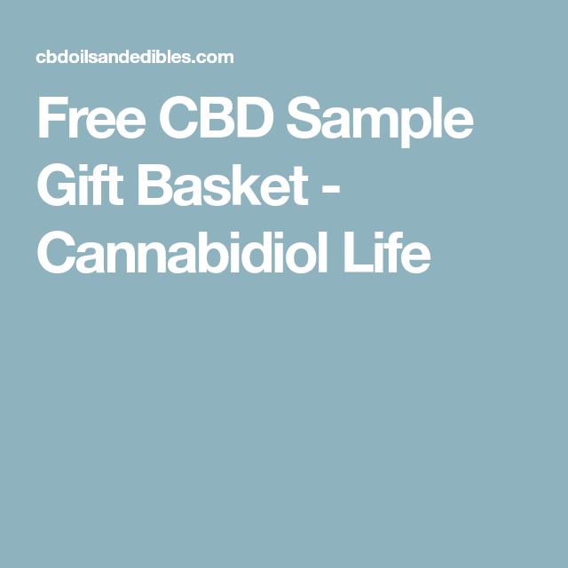 Free CBD Sample Gift Basket | Awesome bud | Gift baskets, Free, Free