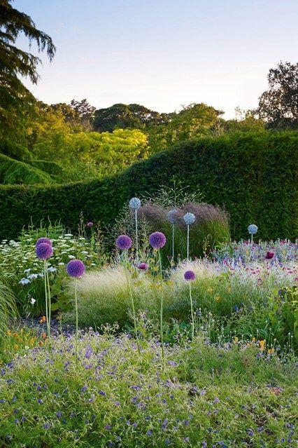Dot Your Border With Alliums | English garden design, English ...