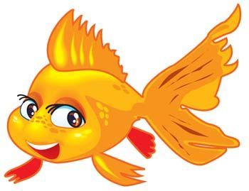 Fish Cartoon Clip Art Description Gold Fish 2 Gold Fish 2 Vector Cartoon Clip Art Goldfish Free Clip Art