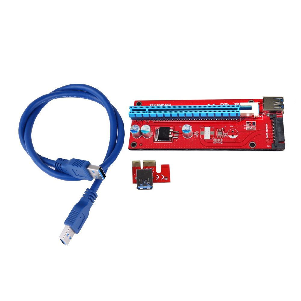 2017 30cm/60cm USB3 0 PCI-Express 1x to 16x Extender cable