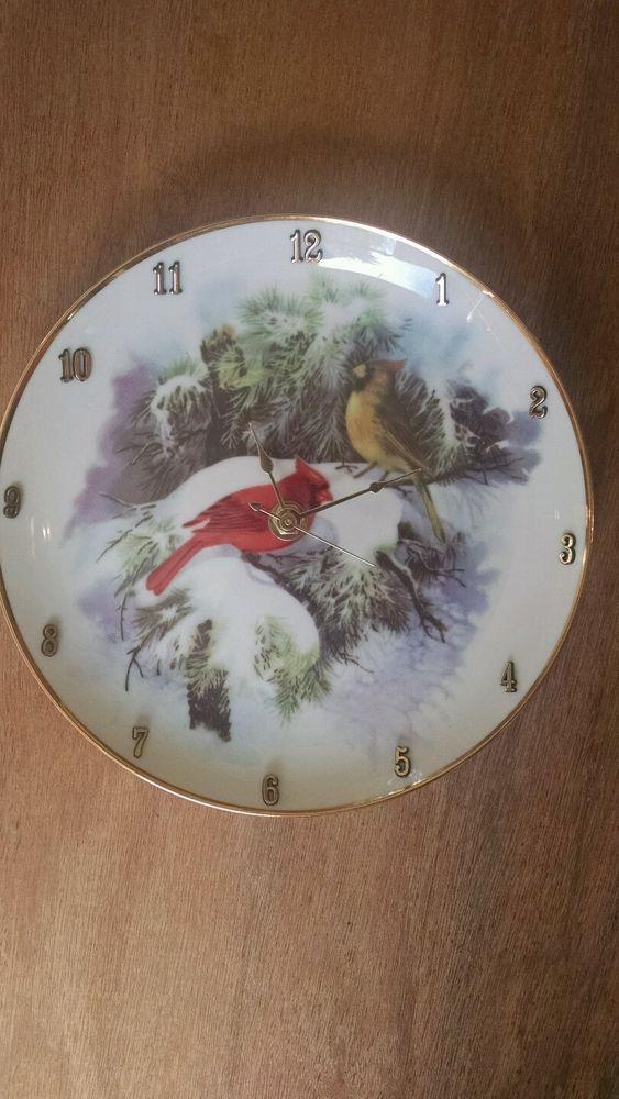 Cardinal Cuttie 8 Inch Clock in Home & Garden, Home Décor, Clocks   eBay