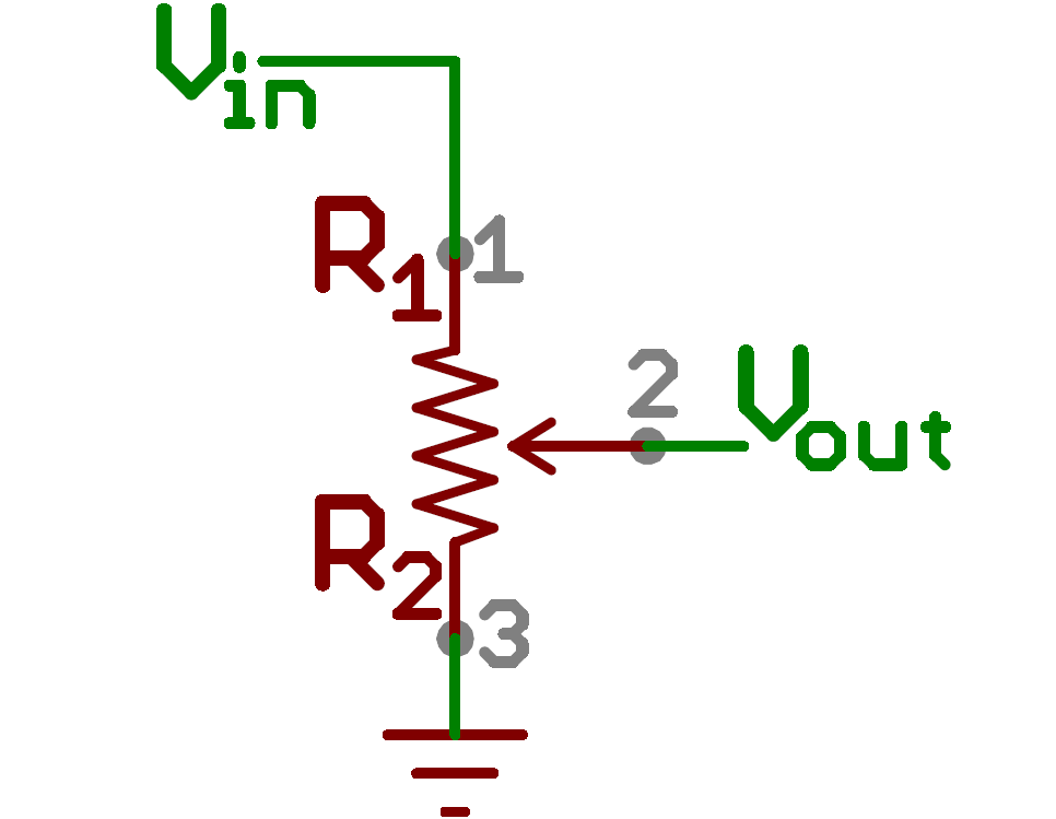 Schematic Symbol For A Potentiometer With Images Voltage
