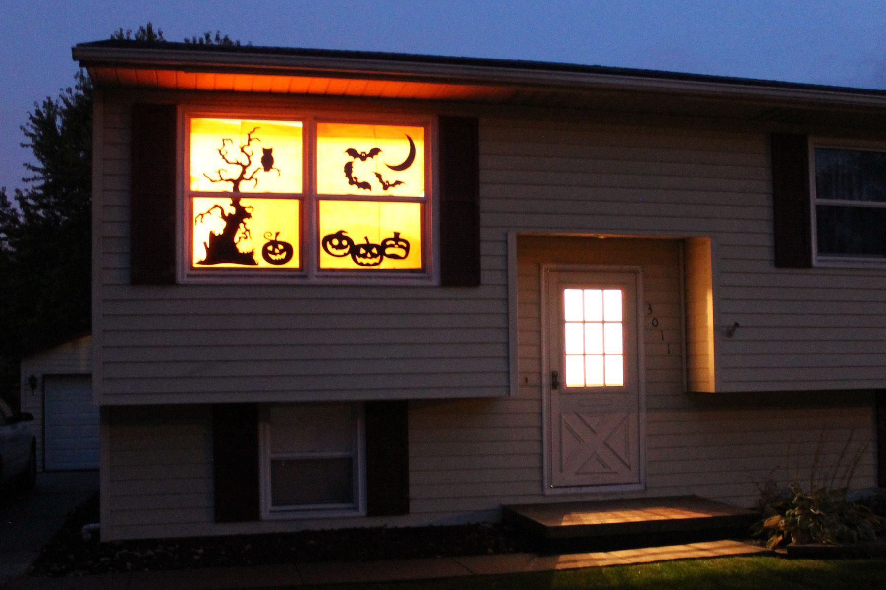 Halloween Silhouette Windows 06 halloween Pinterest Halloween - Window Halloween Decorations