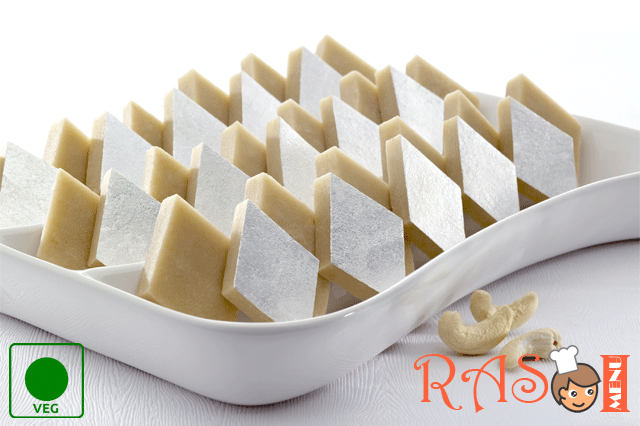 Kaju Katli Recipe Indian Sweet Recipe Rasoi Menu Indian Sweet Sweet Recipes Kaju Katli