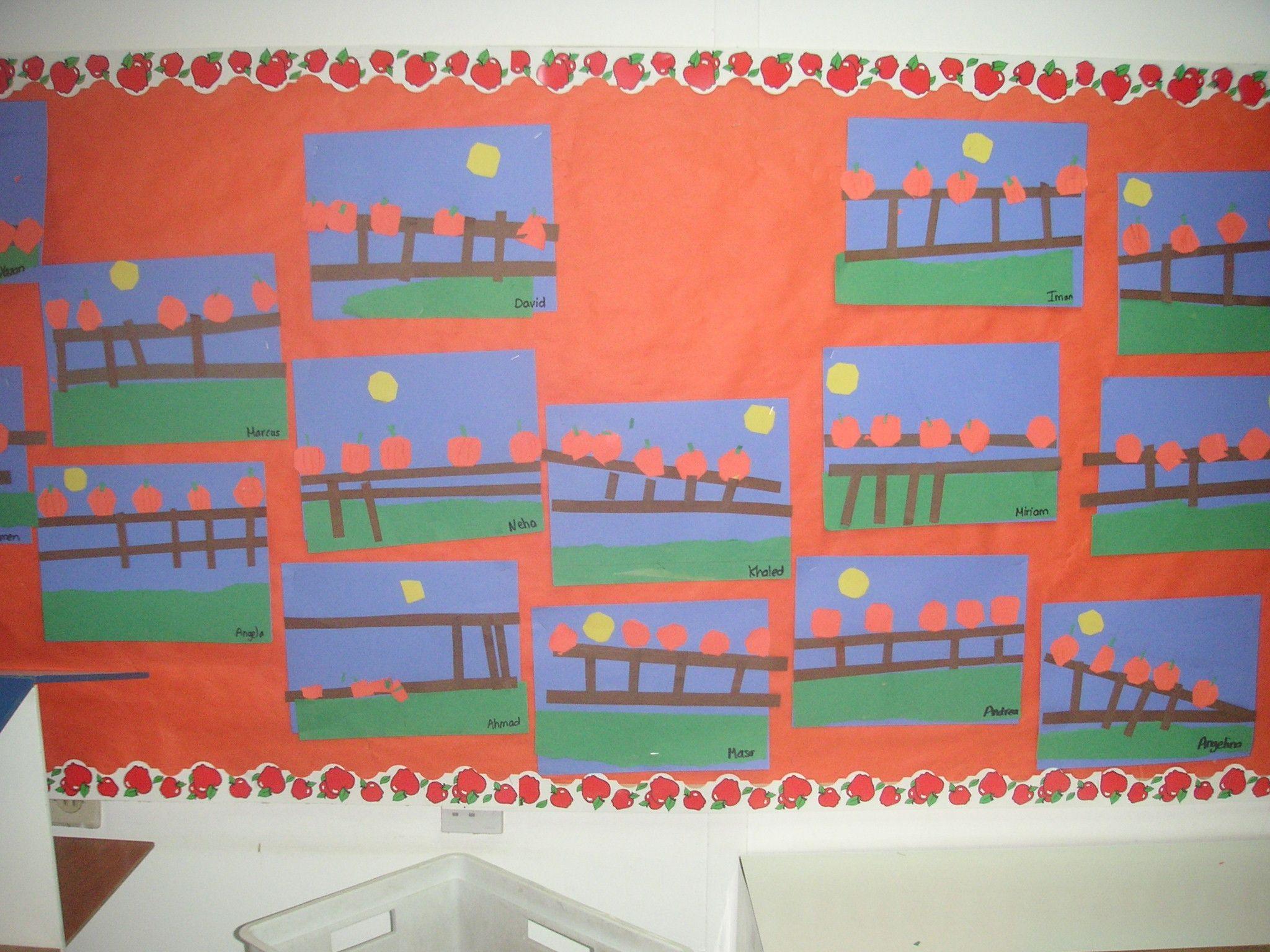 5 Little Pumpkins Board