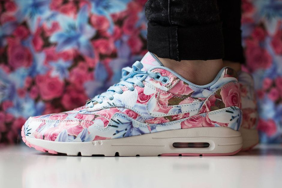 Spring Floral Print Perfect Max The Air 1s Are Sneaker For QCBxdoeWrE