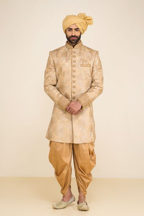 Indian Wedding Dresses For Men | Groom Wear Sherwani Indian Groom ...