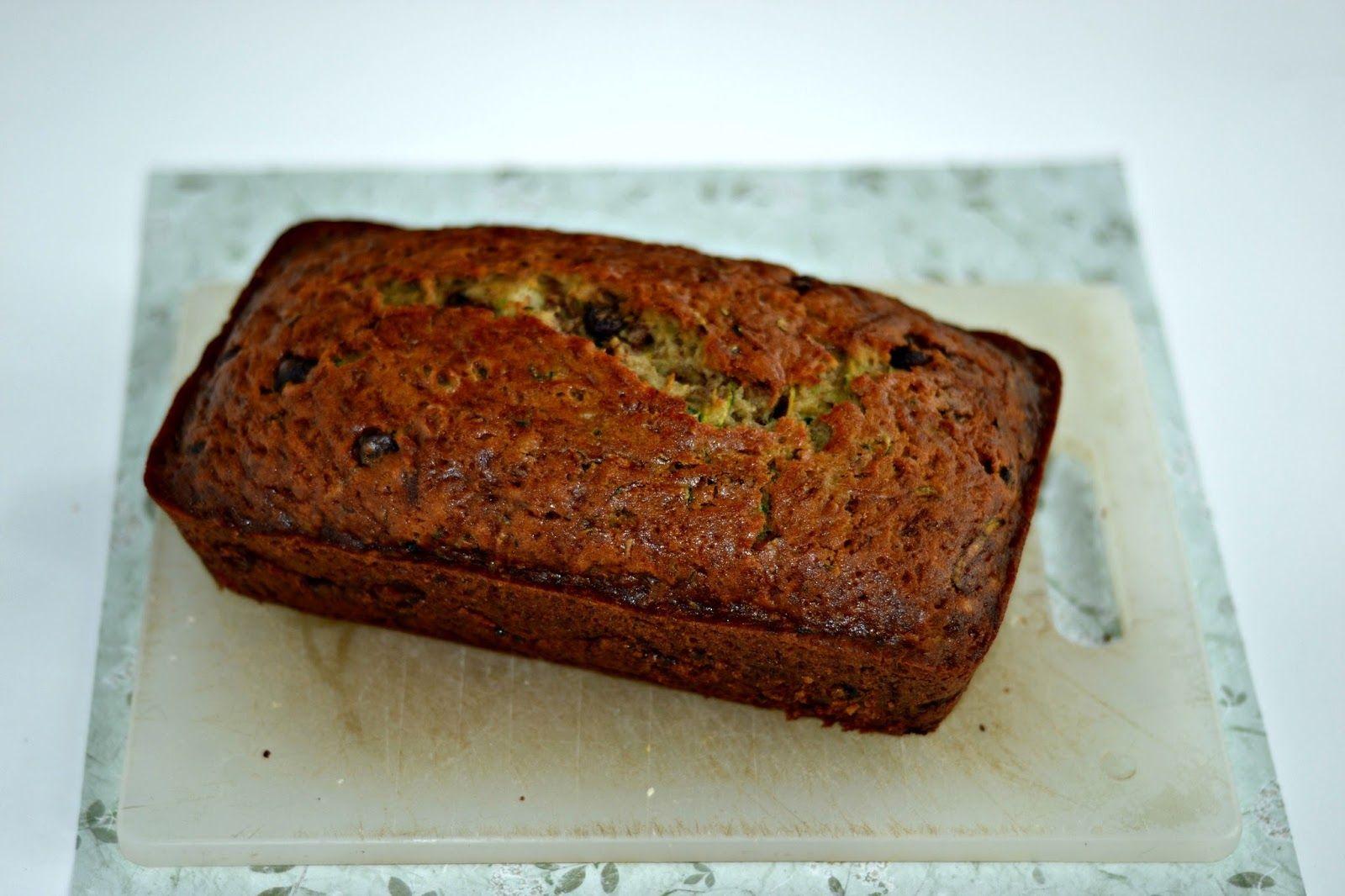 Chocolate Chip Zucchini Bread - Hezzi-D's Books and Cooks