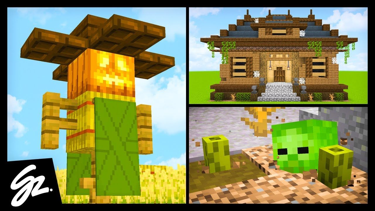 8 Minecraft Halloween Build Hacks | Minecraft, Halloween ...