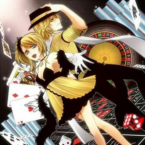 kagamine rin and len casino