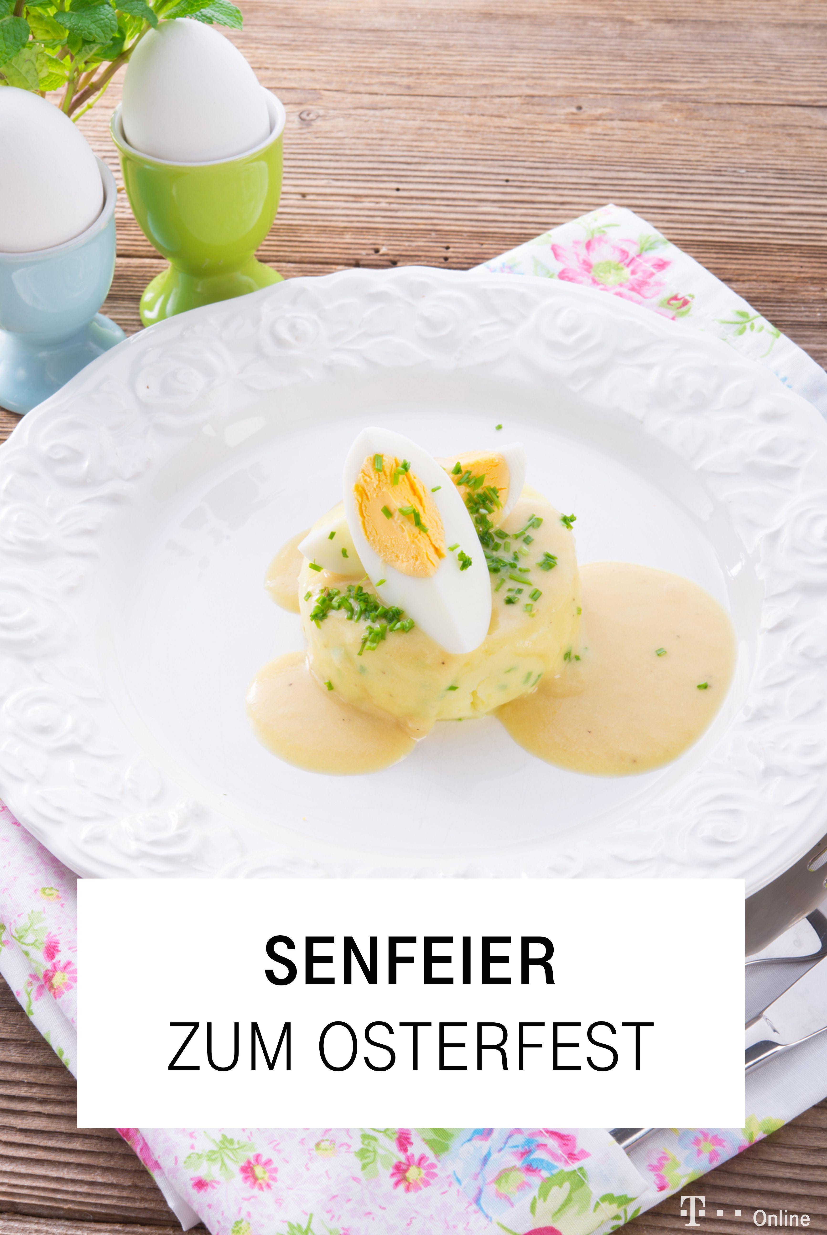 Senfeier mit Sellerie-Kartoffel-Püree | Rezept | Senfeier, Eier ...
