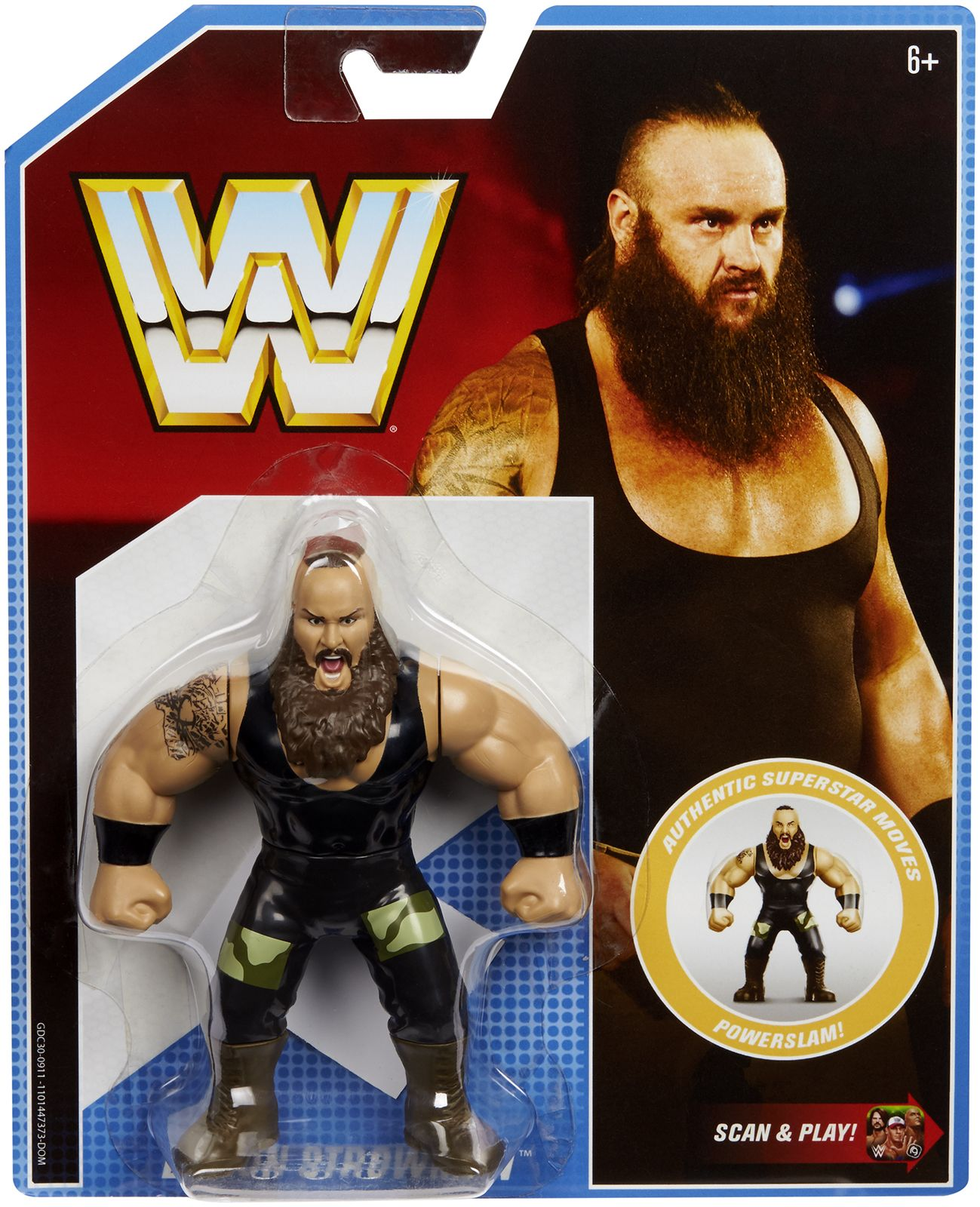 WWE WRESTLING RETRO SERIES STING SUPERSTAR WRESTLER ACTION FIGURE MATTEL