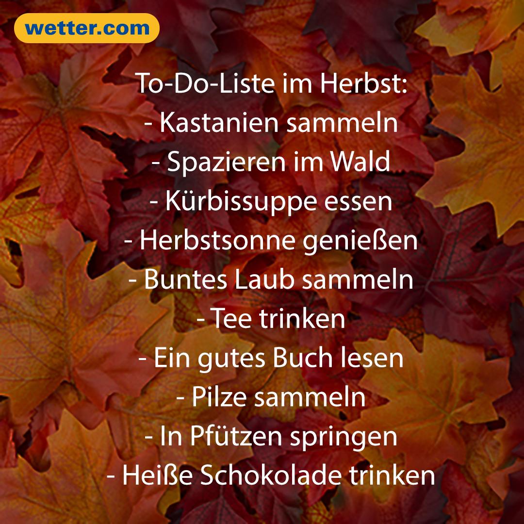 Wetterprognose und Vorhersage November 2019 | Herbst ...