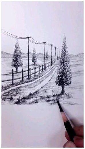 pencil art drawing nature videos