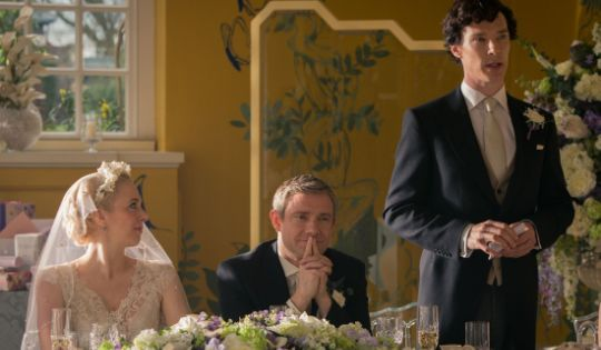 """The next """"Sherlock"""" Season 3 episode, """"The Sign of Three,"""" will feature Watson's wedding. Check it out in this promo video."""