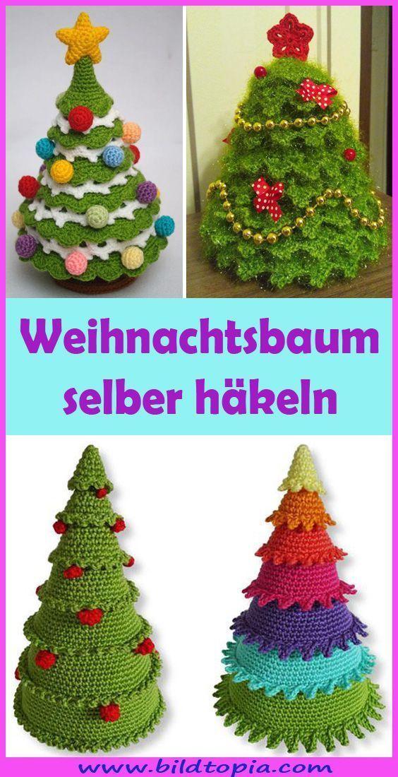 Photo of Häkeln Sie Weihnachtsbaum – Kostenloses Muster für Weihnachten – Kleine Balkonideen # b …