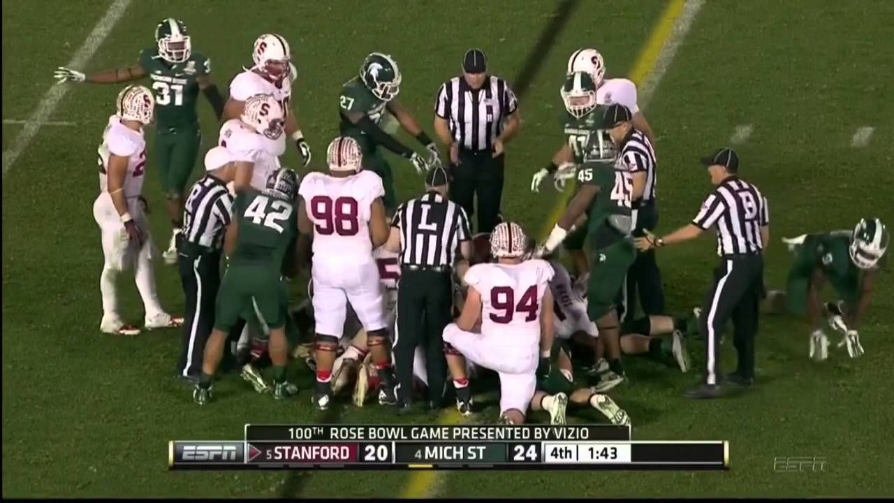 Greatest Plays In Spartan Football History Msu Football Football History Youtube