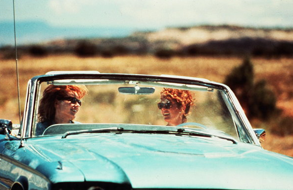 thelma and louise pics in convertible | Car from Thelma and Louise