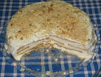 Bolo de bolacha ,autrement dit \u201cGâteau de biscuits\u201d. Le bolo de bolacha est  un dessert portugais très facile,et rapid