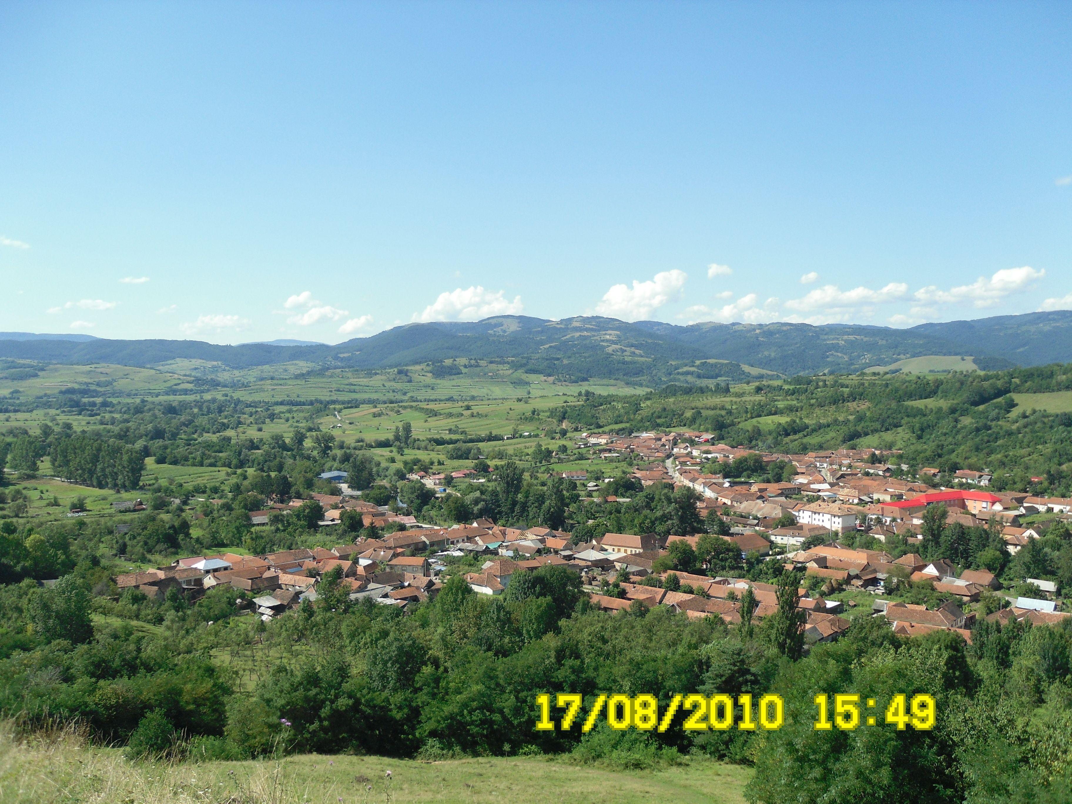 Satul Prigor , Banat, Romania .