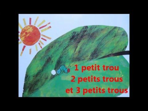 La Chenille Qui Fait Des Trous Chanson Pour Enfant Elea Zale Youtube En 2020 La Chenille Qui Fait Des Trous Chenille Comptine Nombre