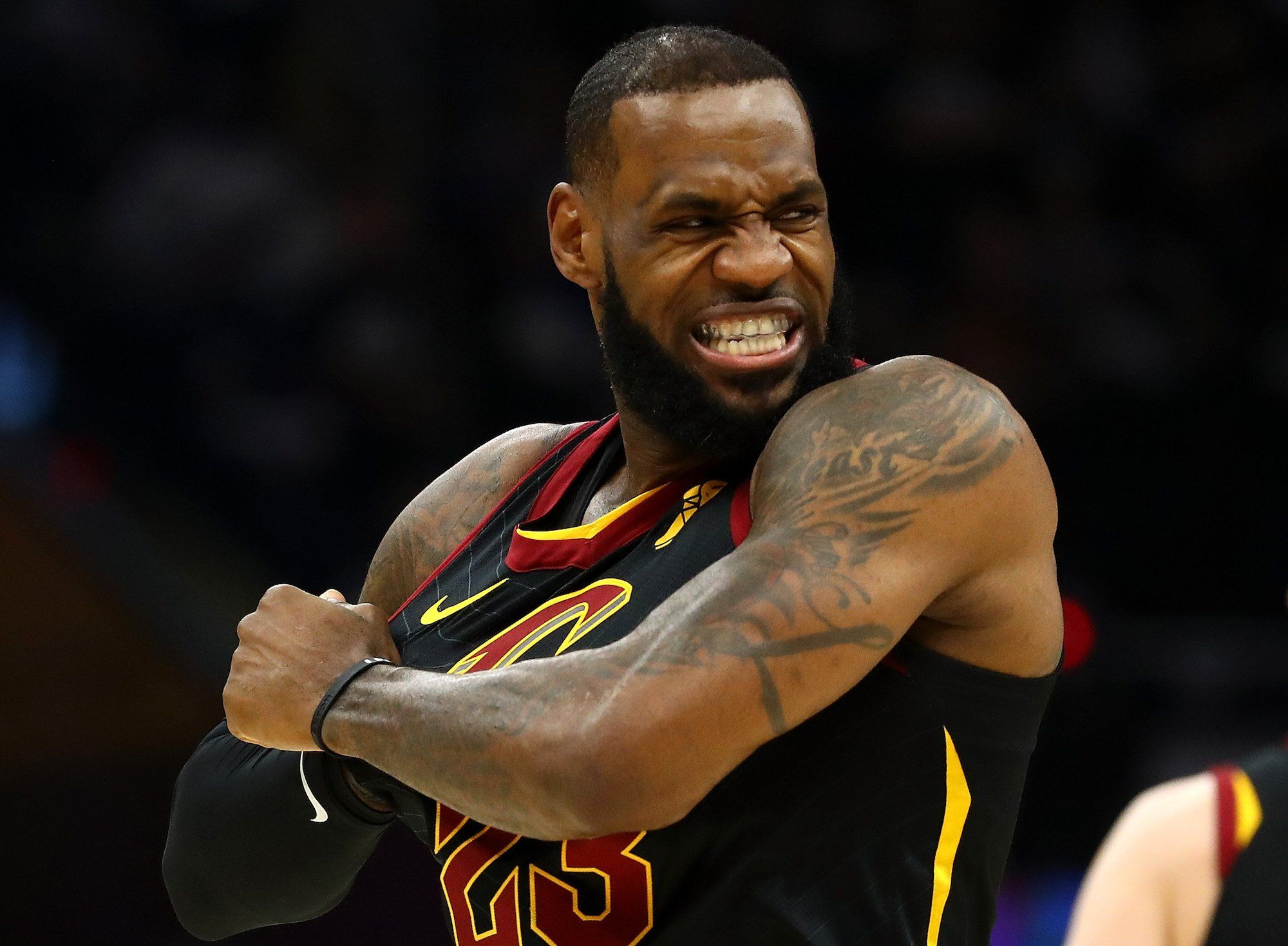 the best attitude c768b cb363 LeBron James scored his 20th career playoff triple double this weekend  here s what that means