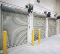 Action Automatic Door Gate Takes Pride In Their Cornell Rolling Service Doors With The Model Esd10 We Offer This Wit Automatic Door Roller Doors Action Door