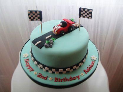 Race Car birthday Cake Cakes Pinterest Race car birthday Car