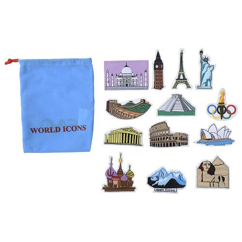Fao Schwarz World Map.Fao Schwarz Big World Map World Icons Add On Set 14 99 Homeschool