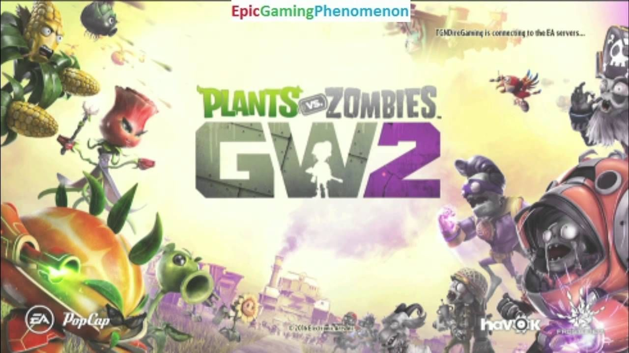 Tutorial For How To Launch The Plants VS Zombies Garden