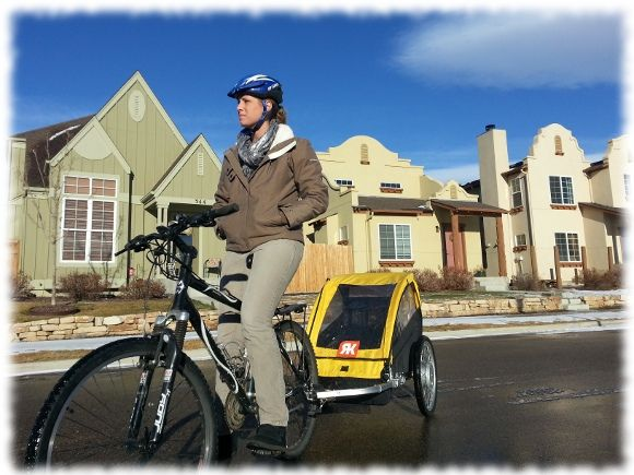 Bike Trailer With Electric Motor The Power To Pedal With Kids