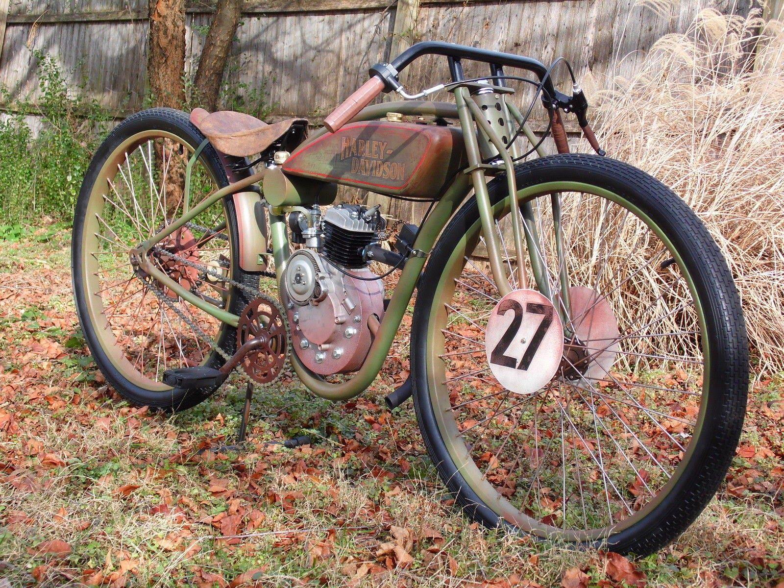 529ba263b02de5edf3afb2d4467a52d4 - Antik dan Langka, Motor Harley-Davidson Board Tracker 1927 Tampil Menawan Cocok Jadi Pajangan