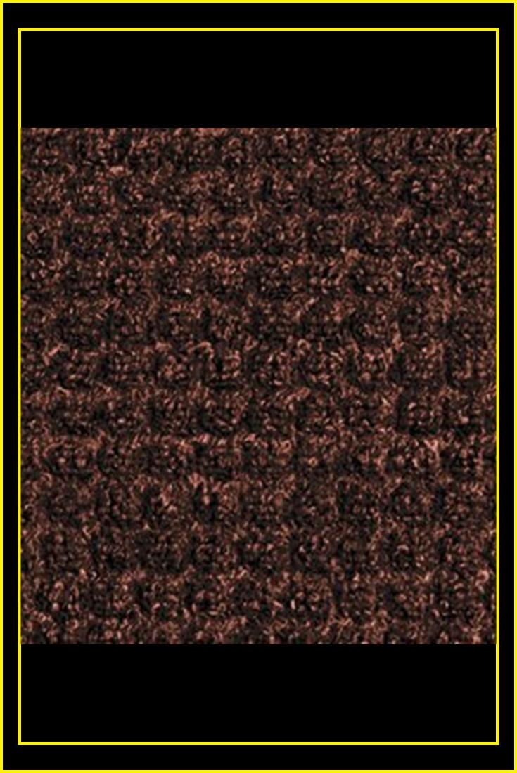 58ab2658a47b Guardian WaterGuard Indoor/Outdoor Wiper Scraper Floor Mat, Rubber/Nylon, 4'