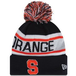 quality design f7d8b 0a3bd Syracuse Orange New Era Biggest Fan Redux Knit Hat - Navy Blue