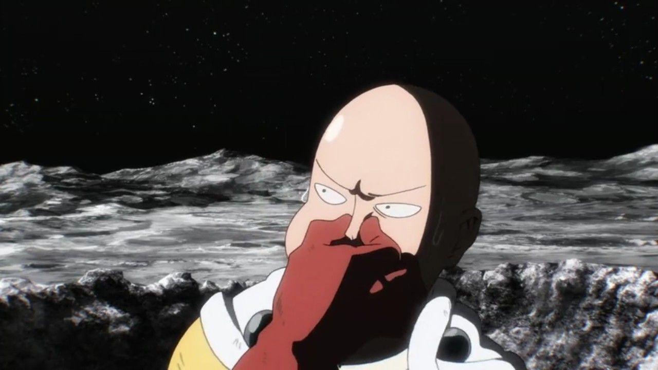 Saitama`One Punch Man` Anime` Meme`   One punch man anime ...