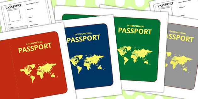 International Passport Template - Passport, Design, holiday ...
