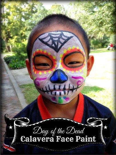 day of the dead face paint your diy calavera skull face - Halloween Day Of The Dead Face Paint