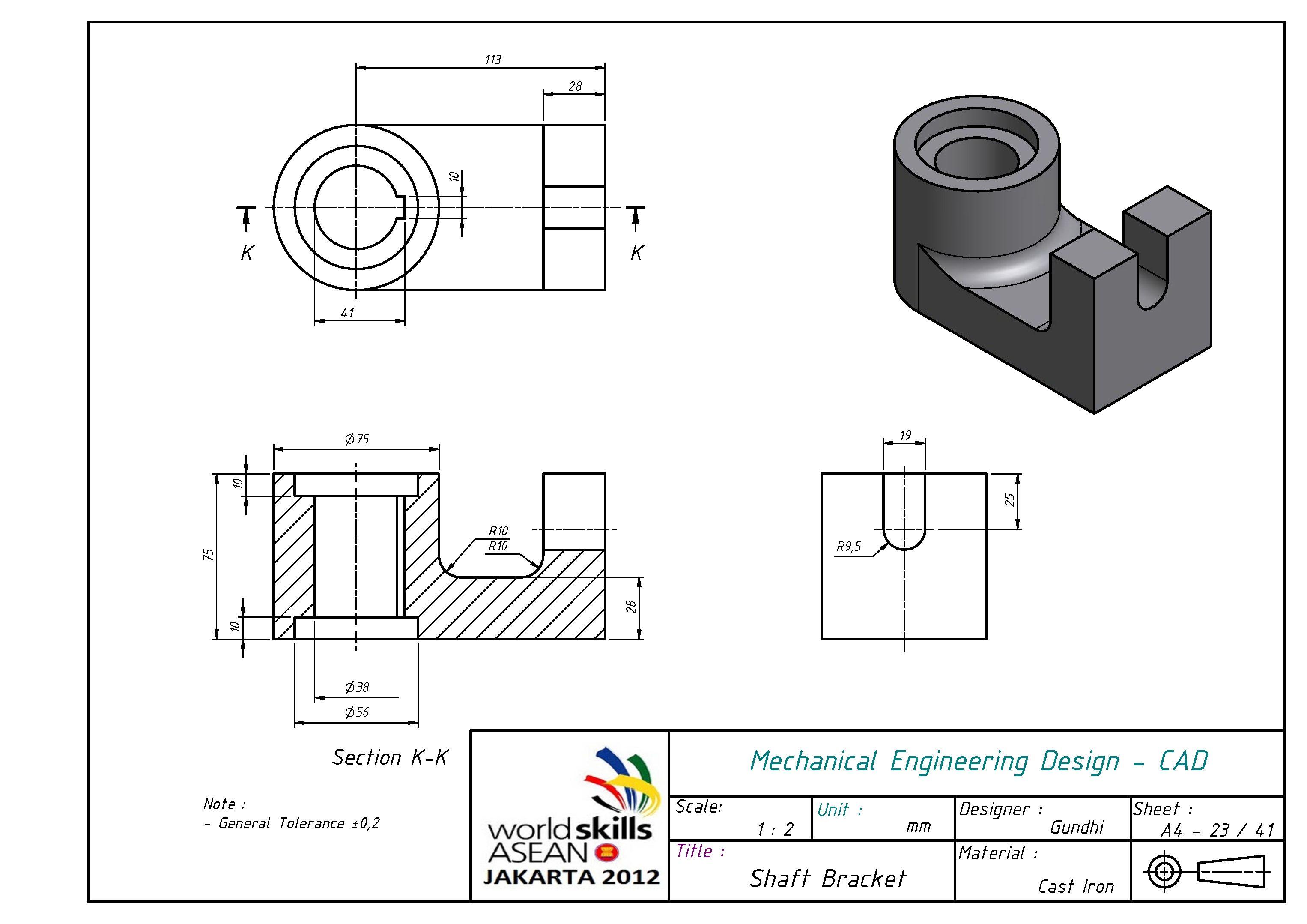 Design Handbook: Engineering Drawing and Sketching ...