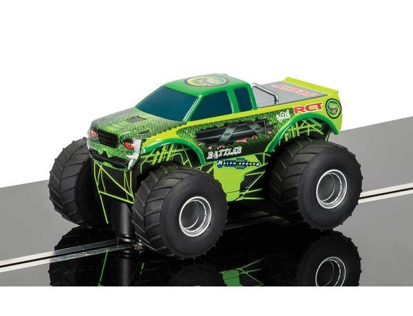 The Scalextric Team Scalextric Monster Truck Slot Car is a 1/32 scale slot truck and is part of the Scalextric Super Resistant range.