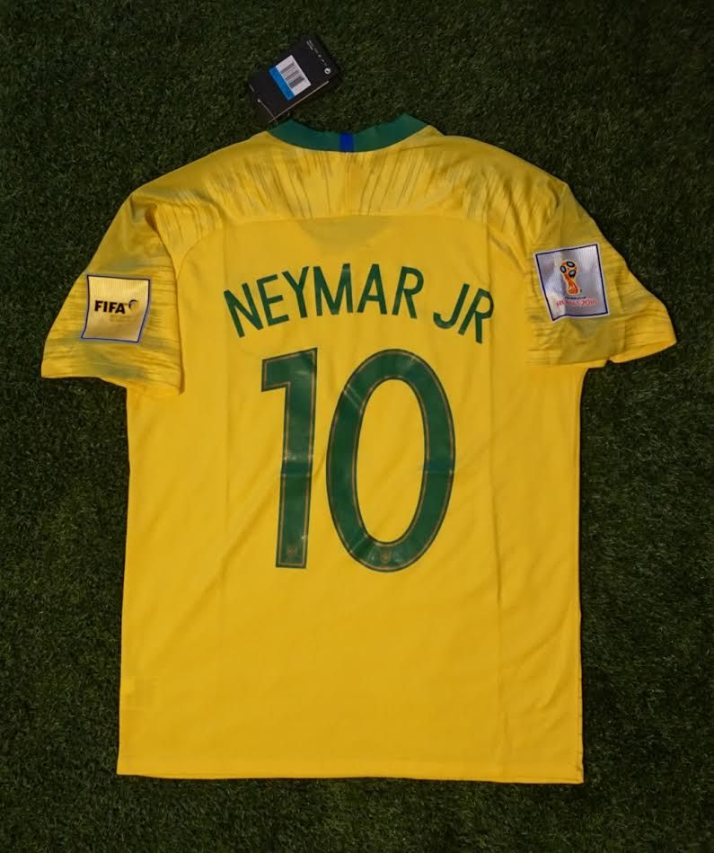 859def43e7a Brazil Home Shirt - Neymar Jr  10 - FIFA World Cup 2018 ...