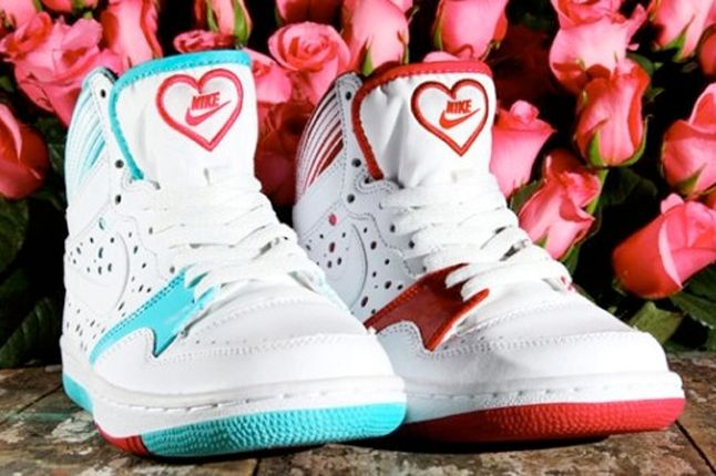 Valentine S Day Nikes Sneakers Workout Fitness Pinterest
